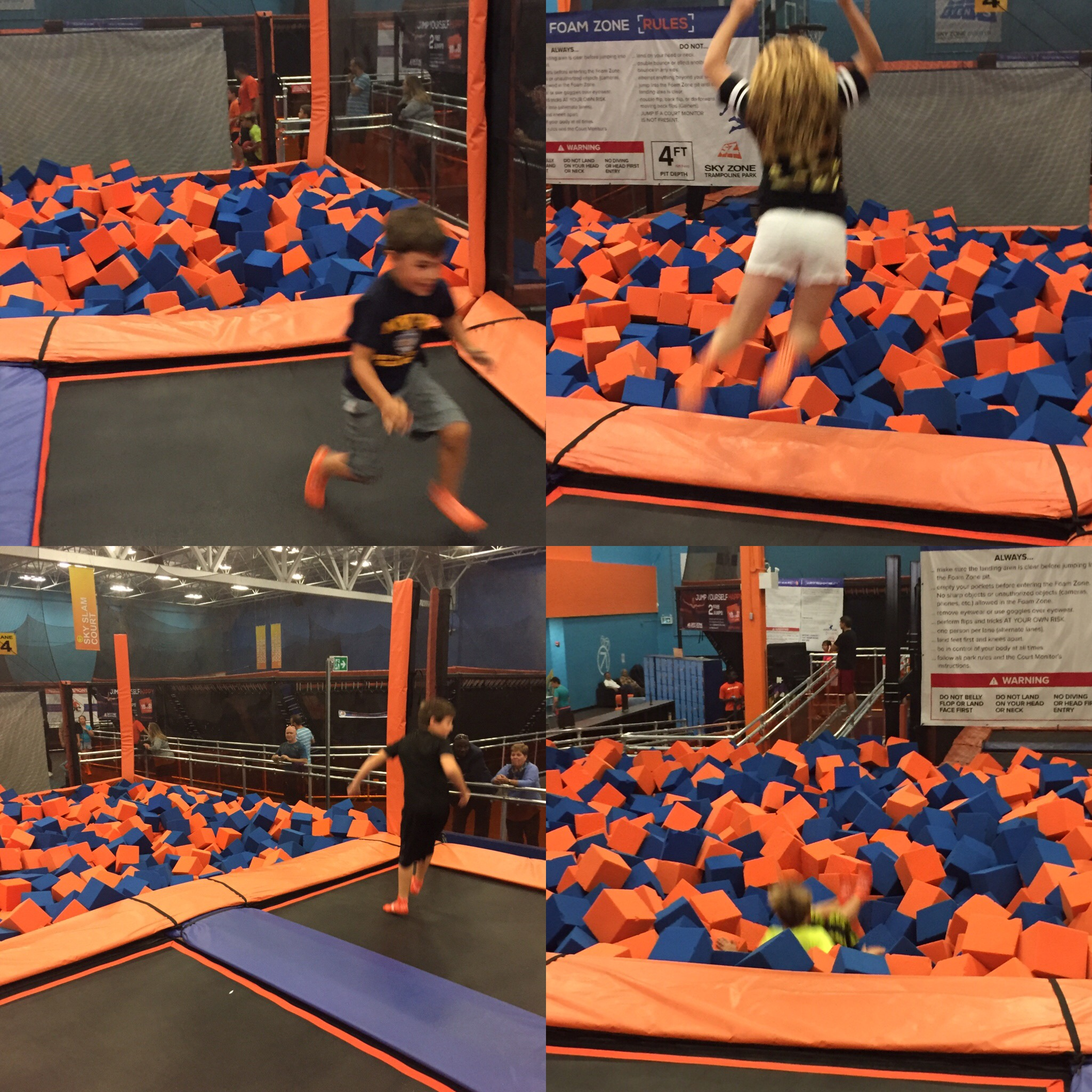 stress free kids birthday parties at sky zone offer and giveaway