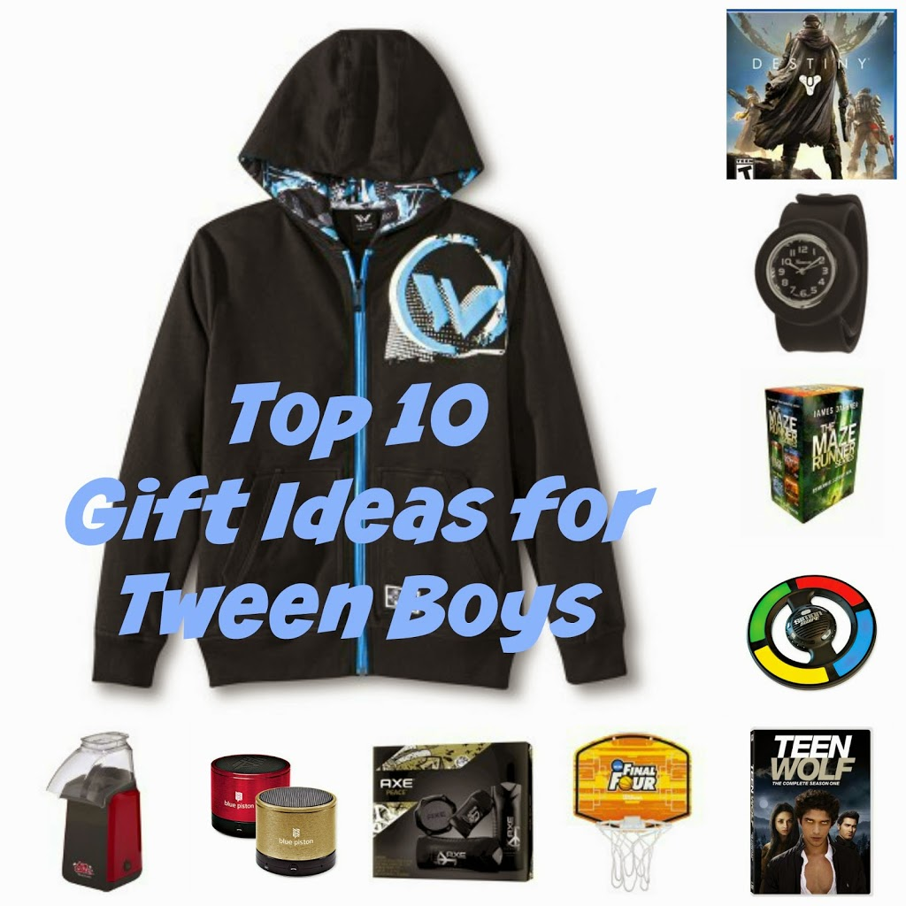 Top Gifts for Tween Boys - Telling My Story